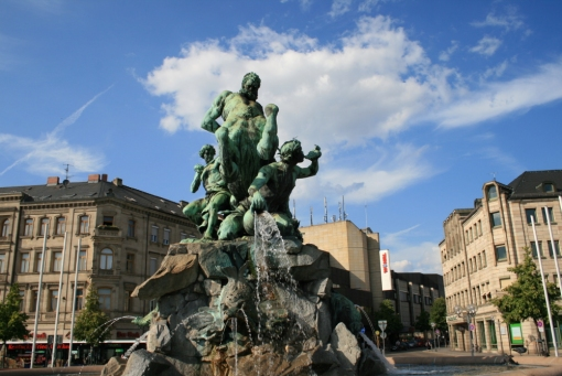 Der Centaurenbrunnen